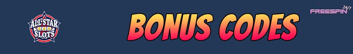 All Star Slots Casino-bonus-codes