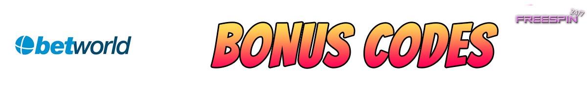 Betworld-bonus-codes