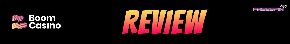 Boom Casino-review