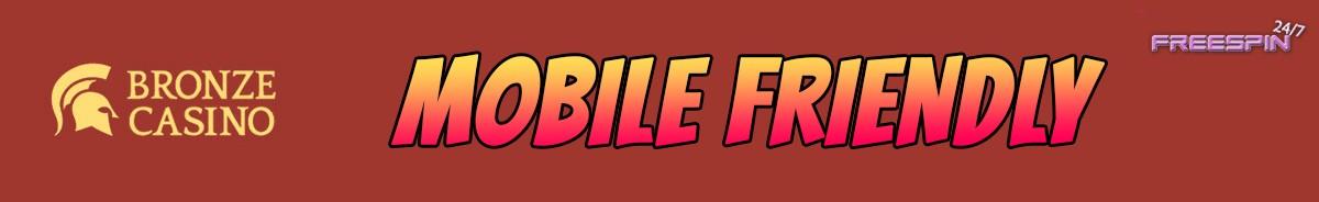 Bronze Casino-mobile-friendly