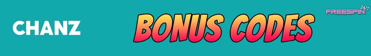Chanz Casino-bonus-codes