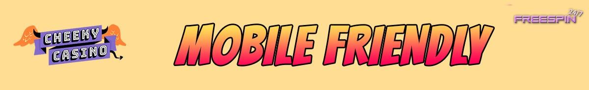 Cheeky Casino-mobile-friendly