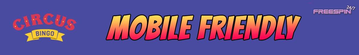 Circus Bingo Casino-mobile-friendly
