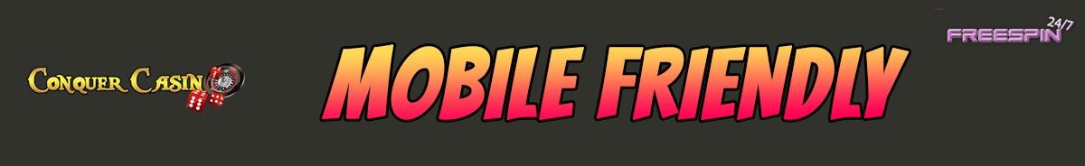 Conquer Casino-mobile-friendly