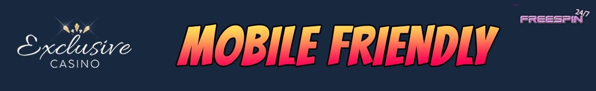Exclusive Casino-mobile-friendly