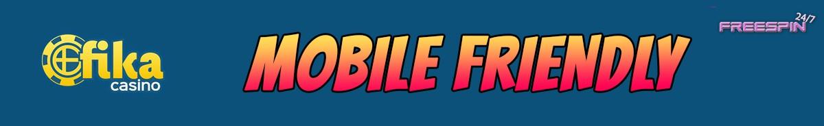 Fika Casino-mobile-friendly