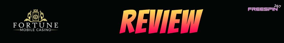 Fortune Mobile Casino-review