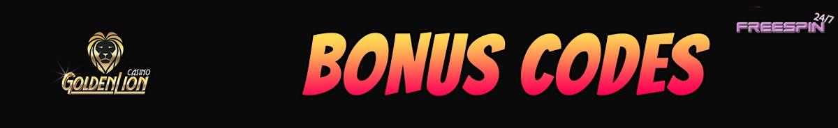 Golden Lion Casino-bonus-codes
