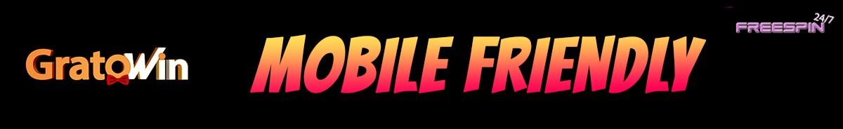 GratoWin Casino-mobile-friendly
