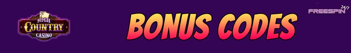 High Country Casino-bonus-codes