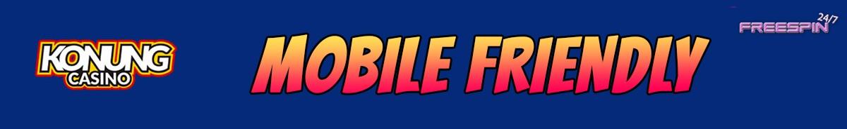 Konung Casino-mobile-friendly