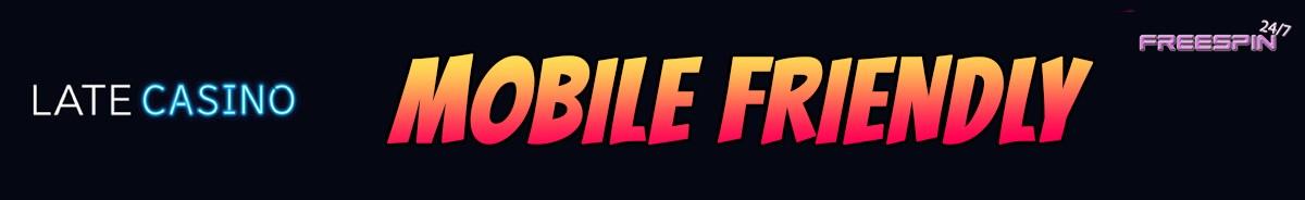 Late Casino-mobile-friendly