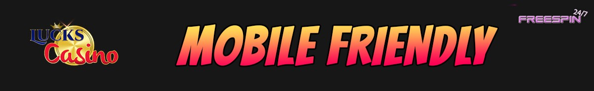 Lucks Casino-mobile-friendly