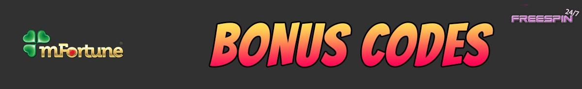 mFortune Casino-bonus-codes