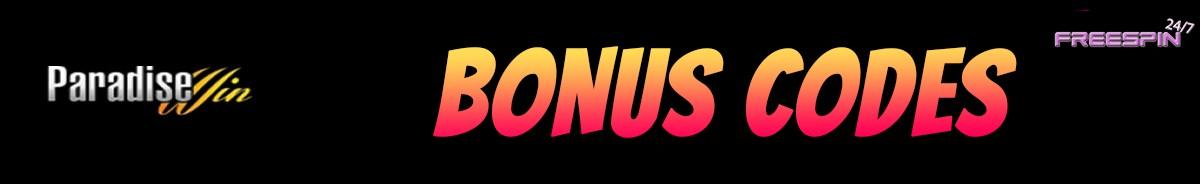 Paradise Win Casino-bonus-codes