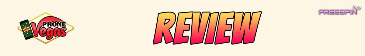 Phone Vegas Casino-review