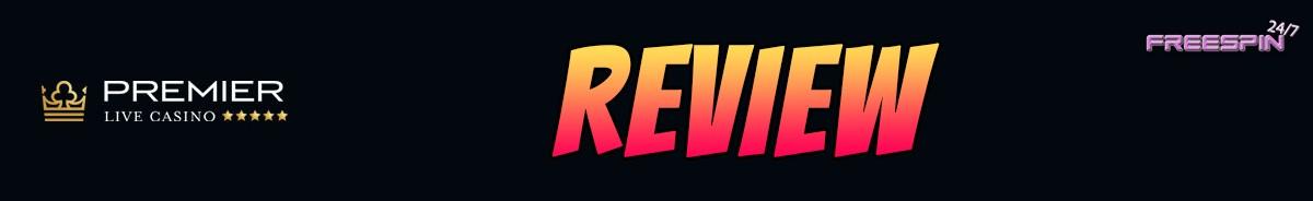 Premier Live Casino-review