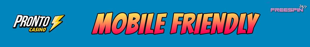 Pronto Casino-mobile-friendly