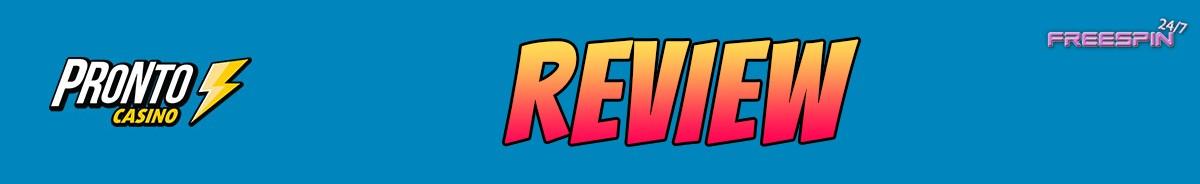 Pronto Casino-review