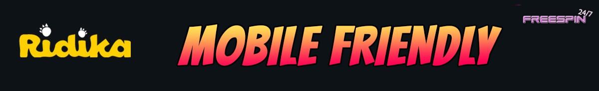 Ridika Casino-mobile-friendly