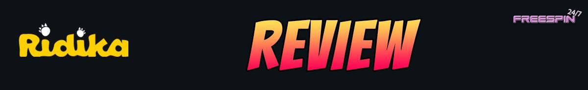 Ridika Casino-review