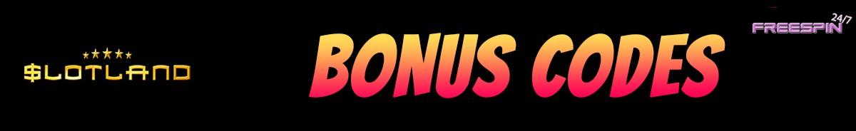 Slotland Casino-bonus-codes