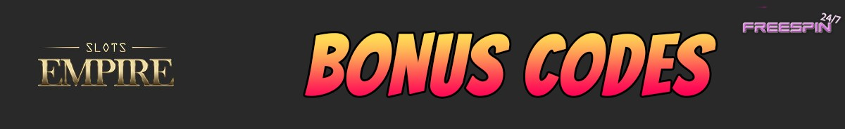 Slots Empire-bonus-codes