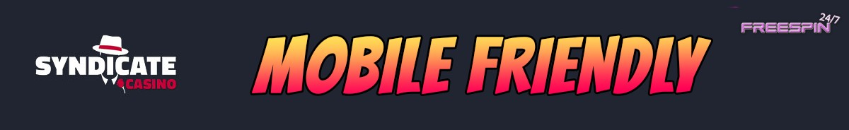 Syndicate Casino-mobile-friendly