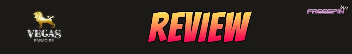 Vegas Paradise Casino-review