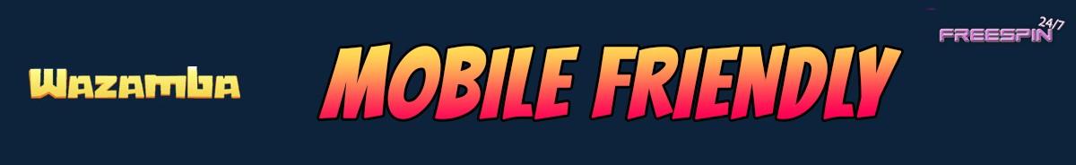 Wazamba Casino-mobile-friendly