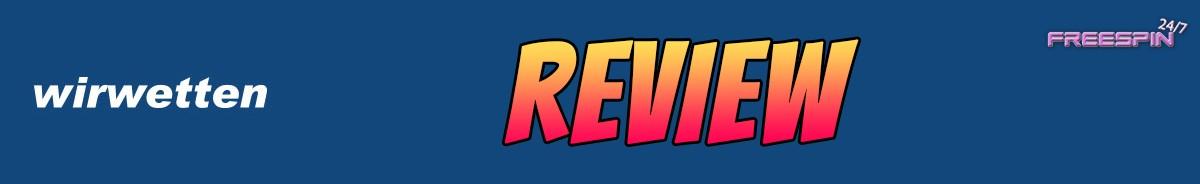 Wirwetten-review