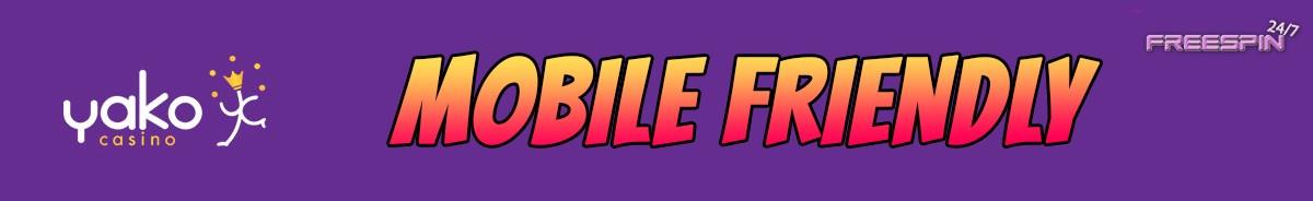 Yako Casino-mobile-friendly