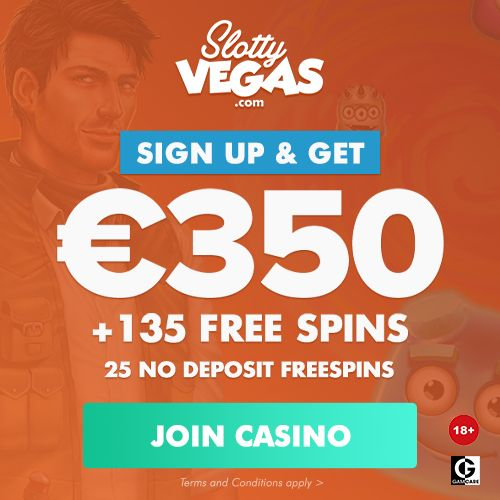Latest bonus from Slotty Vegas Casino